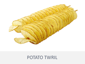 fun food potato twril