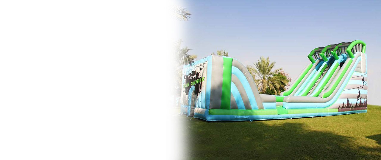 inflatable bouncy for sports and rides in kids & adults birthday party and events